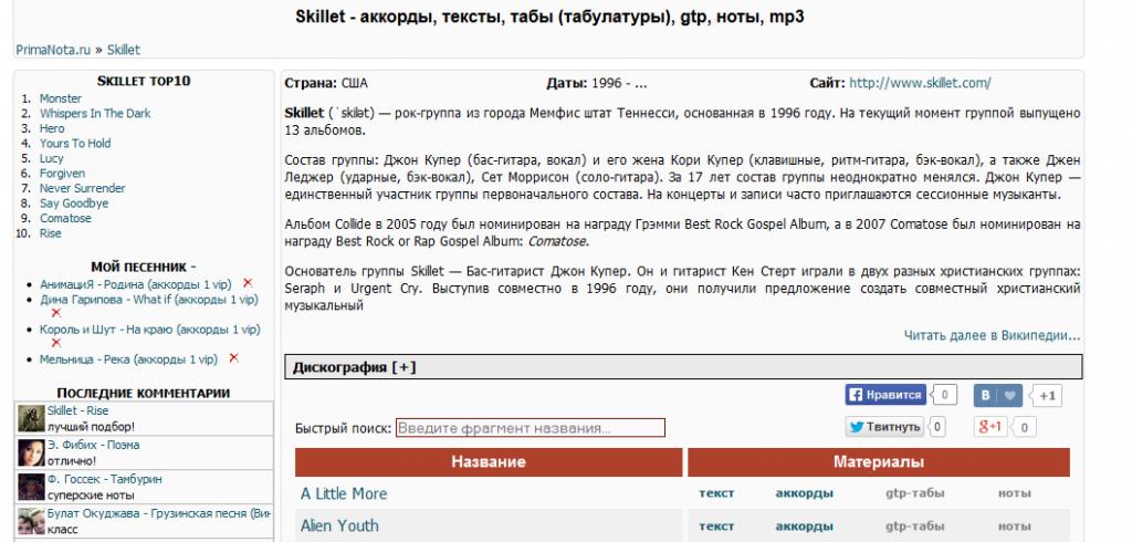 Wikipedia&Musicbrainz